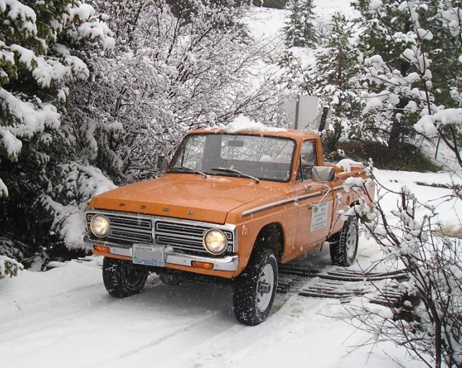 four wheel drive ford couriers the ford courier was never